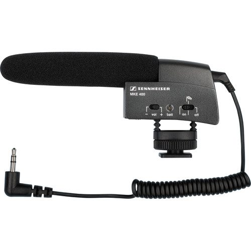 Sennheiser MKE-400 Hot Shoe Mic