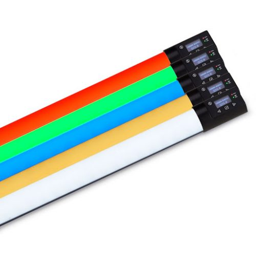 Q-LED-R Rainbow Linear LED Lamps with RGBX