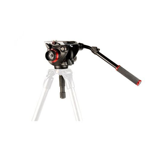Manfrotto 504 HD 75mm Pro Video Head with 536 7' CF Tripod